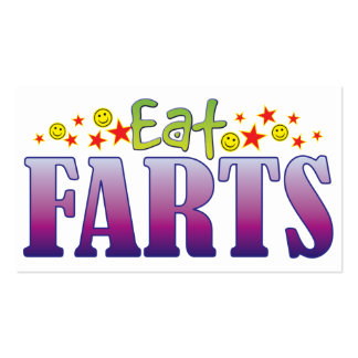 Farts Eat Double-Sided Standard Business Cards (Pack Of 100)