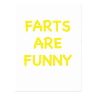 Farts es divertido postales