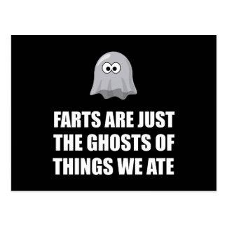 Farts es fantasmas tarjeta postal
