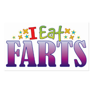 Farts I Eat Double-Sided Standard Business Cards (Pack Of 100)