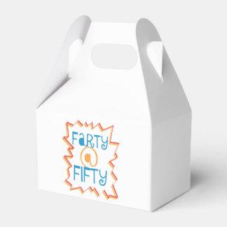 Farty divertido en el 50.o regalo de la mordaza caja para regalos