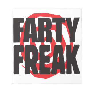 Farty Freak Memo Note Pads