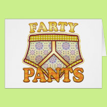 Farty Pants. Card