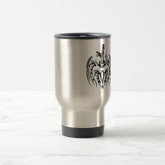 Farvahar Tribal two 15 Oz Stainless Steel Travel Mug
