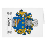 Fasano Family Crest Cards