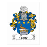 Fasano Family Crest Post Cards