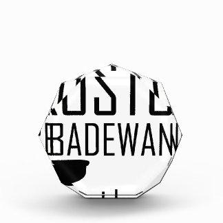 Faschings Kostüm Badewann - volllaufen Acrylic Award