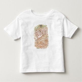 Fascimile of a Plan of Le Havre Toddler T-shirt