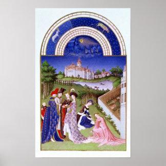 Fascimile of April' Poster