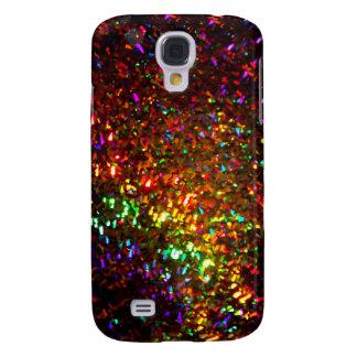 fascinación en caso del teléfono del oro funda para galaxy s4