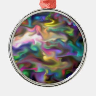 fascinating fluid christmas tree ornament