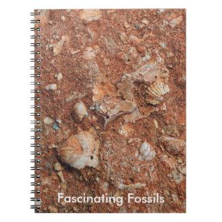 Fascinating Fossils Spiral Notebook