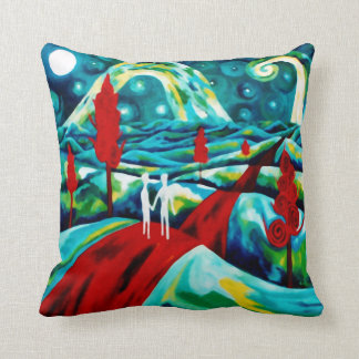 Fascinating Journey Redux Pillow