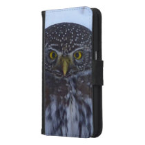 fascinating owl wallet phone case for samsung galaxy s6