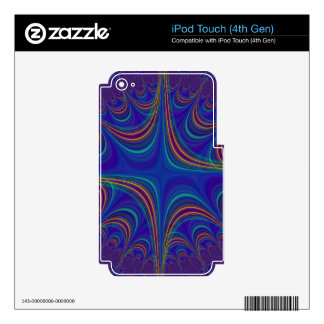 fascinating spiritual, blue iPod touch 4G skin
