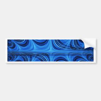 fascinating spiritual, ice blue bumper stickers
