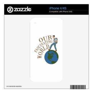 Fascinating World iPhone 4 Skins