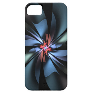 Fascination Blue and Green Abstract iPhone SE/5/5s Case