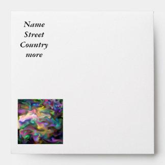 fascination fluid, multicolor envelope