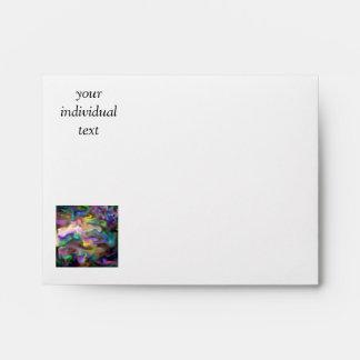 fascination fluid, multicolor envelopes