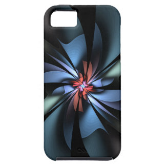 Fascination Light Blue Abstract iPhone SE/5/5s Case