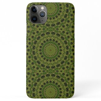 Fascination mushroom kaleidoscope iPhone 11 pro max case