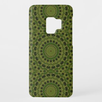 Fascination mushroom kaleidoscope Case-Mate samsung galaxy s9 case