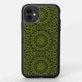 Fascination mushroom kaleidoscope OtterBox symmetry iPhone 11 case