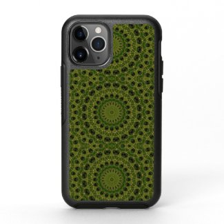 Fascination mushroom kaleidoscope OtterBox symmetry iPhone 11 pro case