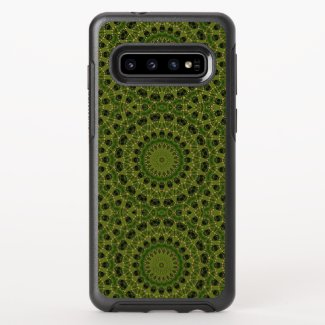 Fascination mushroom kaleidoscope OtterBox symmetry samsung galaxy s10 case
