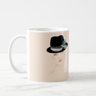 Fascinators - Fedora Coffee Mug