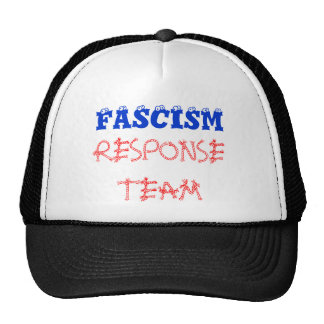 FASCISM , RESPONSE TEAM TRUCKER HAT