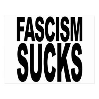 Fascism Sucks Postcard