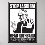 Fascismo de la parada: Lea la impresión de Póster