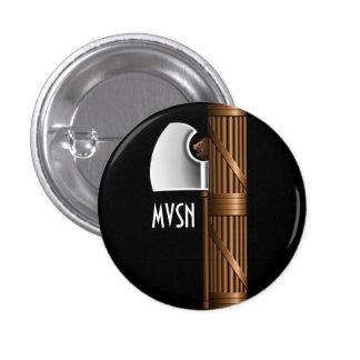Fascista Mussolini de los lictoriae MVSN de Fasces Pin Redondo De 1 Pulgada