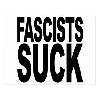 Fascists Suck Postcard