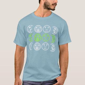 Fases de la camiseta de la luna