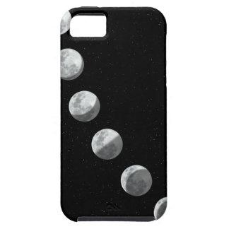 Fases de la luna iPhone 5 carcasa