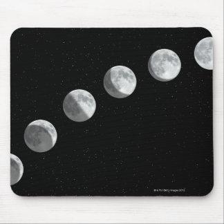 Fases de la luna tapete de ratones