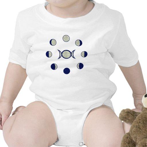 Fases de la luna trajes de bebé