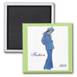 Fashion 1934 Magnet