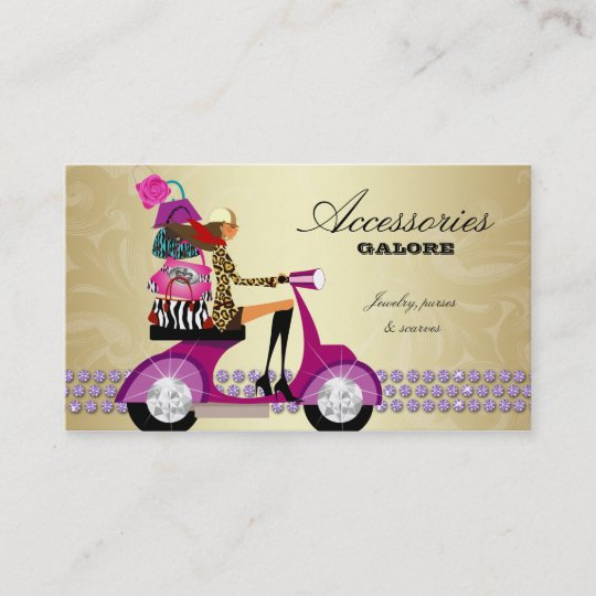 Fashion accessories purses jewelry purple gold reg business card fashion accessories purses jewelry purple gold reg business card colourmoves