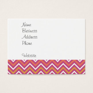Fashion Always in Style 1900s Women on Chevron Business Card