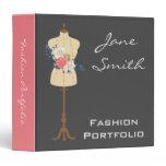 Fashion and design professional portfolio folder