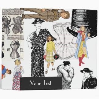 Fashion and More Fashion Binder