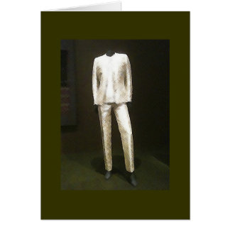 Fashion at the Museum - Pantsuit Card