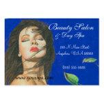 Fashion Beauty & Day Spa Woman Business Card