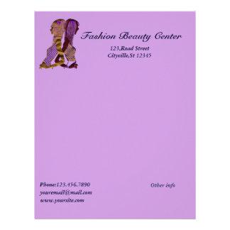 Fashion Beauty Letterhead