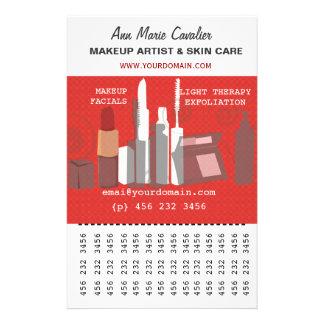 Fashion Beauty Makeup Artist  Business Personalized Flyer
