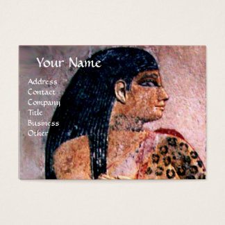 FASHION & BEAUTY OF ANTIQUE EGYPT MONOGRAM BUSINESS CARD